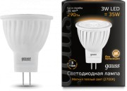 Светодиодная LED лампа Gauss MR11 3W GU4 AC220-240V 2700K 132517103