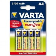 Аккумулятор Varta Ready2Use 56706.101.404/414 /R6 2100mAh Ni-MH BL4 ЗАРЯЖ в56706101404