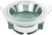 Светильник Ecola GX53 H2R Downlight with reflector_white 58х125 FW53H2ECB