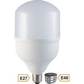 Светодиодная LED лампа Ecola High Power LED Premium 40W 220V универс. E27/E40 (лампа) 2700K 200х120mm HPUW40ELC