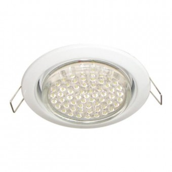 Светильник Ecola GX53 H4 Downlight without reflector_white (светильник) 38x106 FW53P2ECB